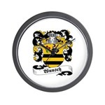Wunsch Coat of Arms Wall Clock