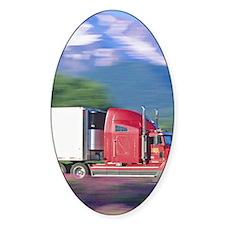 Truck motion. Bumper Stickers