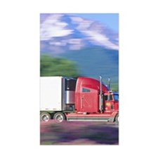 Truck motion. Decal