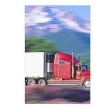 Truck motion. Postcards (Package of 8)