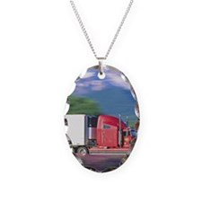 Truck motion. Necklace