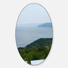 Cabot Trail. Wreck Cove Point overl Decal