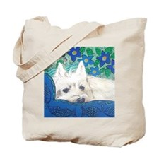MouseLite Westie Tote Bag