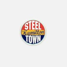 Hamilton Vintage Label W Mini Button