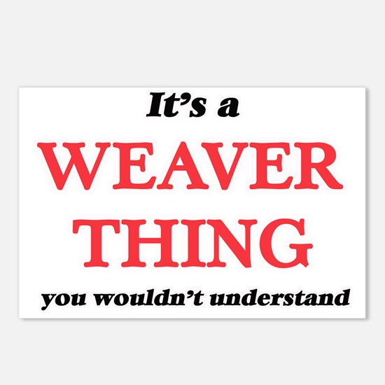 It's and Weaver thing Postcards (Package of 8)