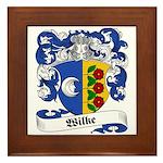 Wilke Coat of Arms Framed Tile