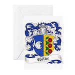 Wilke Coat of Arms Greeting Cards (Pk of 10)