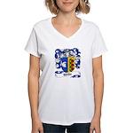 Wilke Coat of Arms Women's V-Neck T-Shirt
