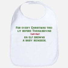 Christmas Tree Lights Bib