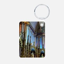 Montreal. Interior of Notr Aluminum Photo Keychain