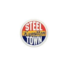 Hamilton Vintage Label B Mini Button
