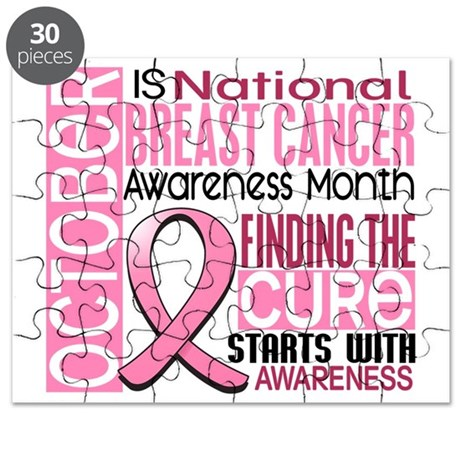 Breast Cancer Awareness Month Puzzle by Admin CP
