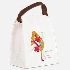 dancerArtist Canvas Lunch Bag