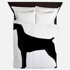 Doberman Queen Duvet