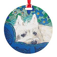 SQlite Westie Ornament