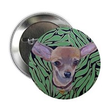 """Mouse ChiliPeppers 2.25"""" Button"""