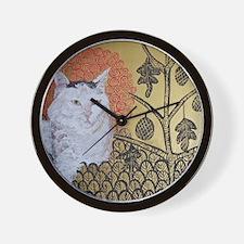 SQ KlimptCat Wall Clock