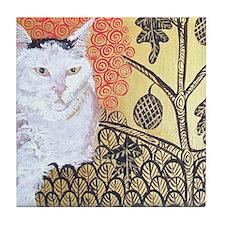 MouseLite KlimptCat Tile Coaster
