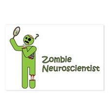 Zombie Neuroscientist Postcards (Package of 8)