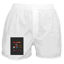 Gretting Card Tall 77 Boxer Shorts