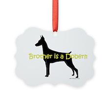 DobermanBrother Ornament