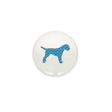 Bone Terrier Mini Button (10 pack)