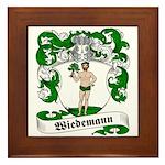 Wiedemann Coat of Arms Framed Tile