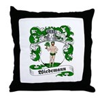Wiedemann Coat of Arms Throw Pillow