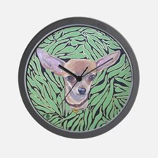 SQLite ChiliPeppers Wall Clock