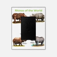 Rhinos of the World Picture Frame