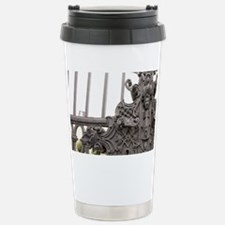 Detail from the entrance gate t Travel Mug