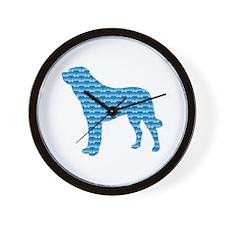 Bone Anatolian Wall Clock