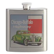 Chicago-BuffaloHighway-10 Flask