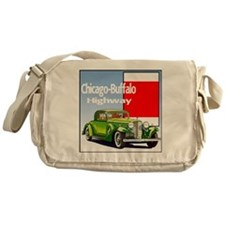 Chicago-BuffaloHighway-10 Messenger Bag