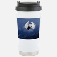 white owl mp Travel Mug