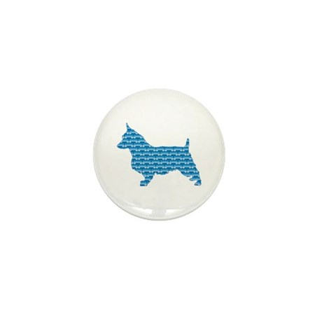 Bone Terrier Mini Button (10 pack)