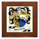 Wernicke Coat of Arms Framed Tile