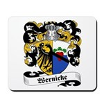 Wernicke Coat of Arms Mousepad