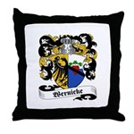 Wernicke Coat of Arms Throw Pillow