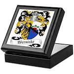Wernicke Coat of Arms Keepsake Box
