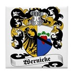 Wernicke Coat of Arms Tile Coaster