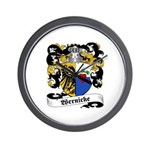 Wernicke Coat of Arms Wall Clock