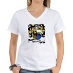 Wernicke Coat of Arms Women's V-Neck T-Shirt