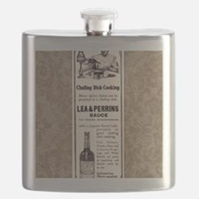 Lea and Perrins Sauce Flask