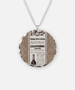 Lea and Perrins Sauce Necklace