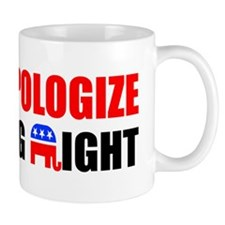 APOLOGIZENEW Mug