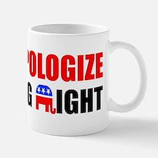 APOLOGIZENEW Mug