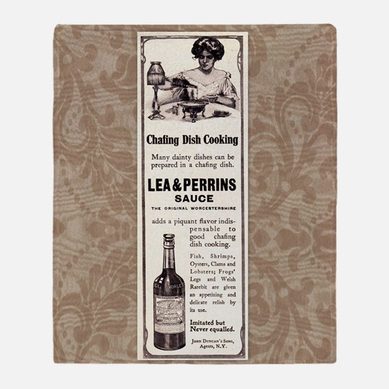 Lea and  Perrins Sauce Throw Blanket
