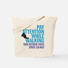 payattention copy Tote Bag