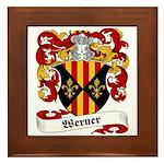 Werner Coat of Arms Framed Tile